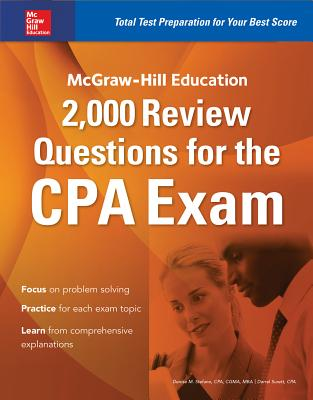 McGraw-Hill Education 2,000 Review Questions for the CPA Exam Cover Image