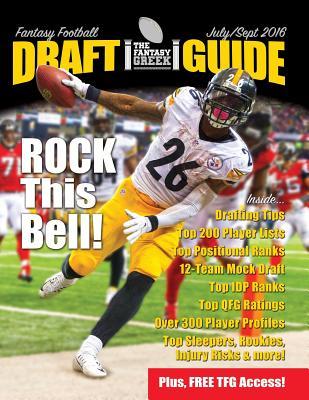 Fantasy Football Draft Guide July/September 2016 Cover Image