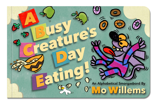 A Busy Creature's Day Eating! Cover Image