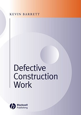 Defective Construction Work: And the Project Team Cover Image