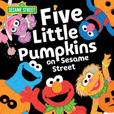 Five Little Pumpkins on Sesame Street (Sesame Street Scribbles) Cover Image