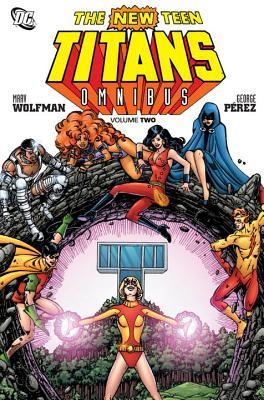 The New Teen Titans Omnibus Vol. 2 Cover