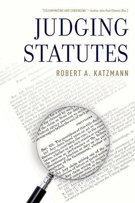 Judging Statutes Cover Image