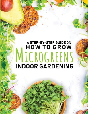 How to Grow Microgreens Indoor Gardening Book Cover Image