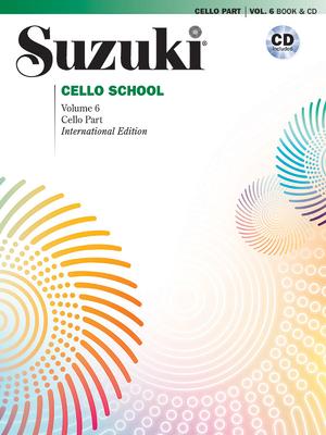 Suzuki Cello School, Vol 6: Cello Part, Book & CD Cover Image