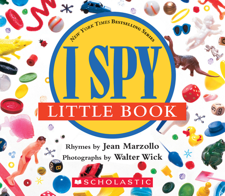 I Spy Little Book: A Book of Picture Riddles Cover Image