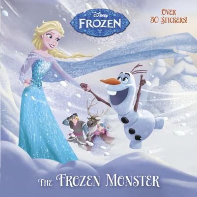 The Frozen Monster (Disney Frozen) (Pictureback(R)) Cover Image