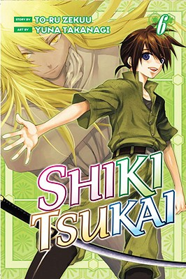 Shiki Tsukai 6 Cover