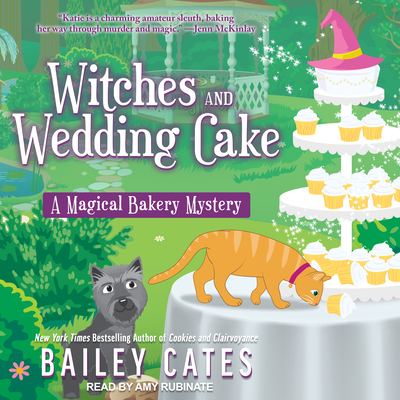 Witches and Wedding Cake (Magical Bakery Mystery #9) Cover Image