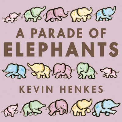 A Parade of Elephants Board Book Cover Image