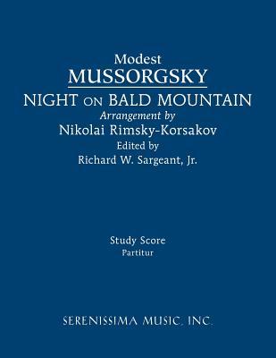 Night on Bald Mountain: Study score Cover Image