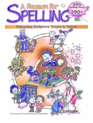 A Reason for Spelling: Student Workbook Level C Cover Image