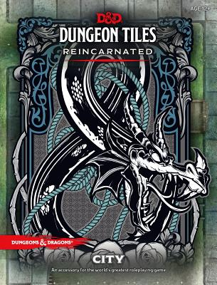 D&D DUNGEON TILES REINCARNATED: CITY (Dungeons & Dragons) Cover Image