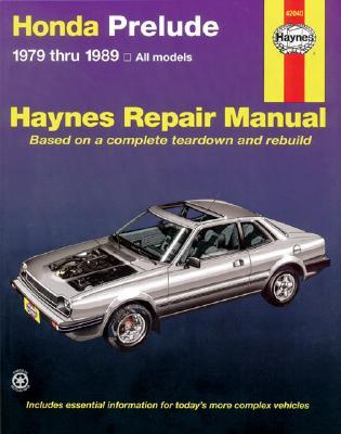 Honda Prelude CVCC, 1979-1989 (Haynes Manuals) Cover Image
