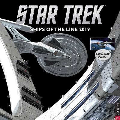 Star Trek Ships of the Line 2019 Wall Calendar Cover Image