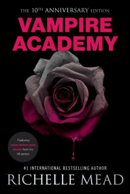 Vampire Academy 10th Anniversary Edition Cover