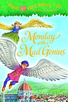 Monday with a Mad Genius (Magic Tree House (R) Merlin Mission #38) Cover Image