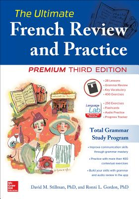 The Ultimate French Review and Practice, Premium Third Edition Cover Image