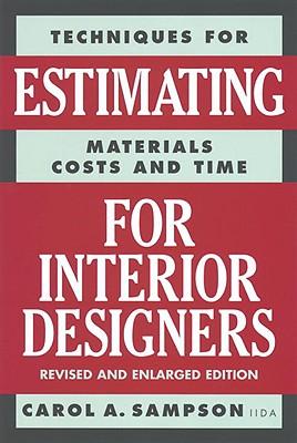 Estimating for Interior Designers Cover