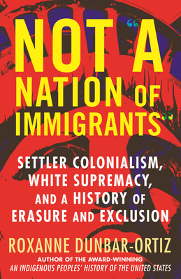 """Cover for Not """"A Nation of Immigrants"""""""