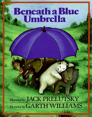 Beneath a Blue Umbrella Cover