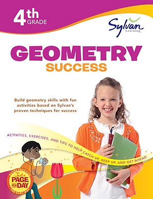 Fourth Grade Geometry Success (Sylvan Workbooks) Cover