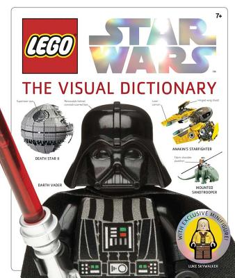 Lego Star Wars: The Visual Dictionary [With Mini Figure] Cover Image