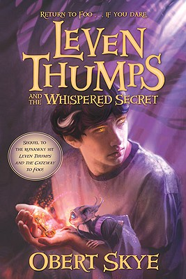 Cover for Leven Thumps and the Whispered Secret
