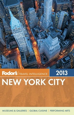 Fodor's New York City 2013 Cover
