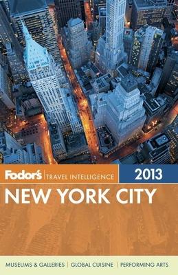 Fodor's New York City 2013 Cover Image