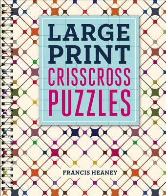 Cover for Large Print Crisscross Puzzles