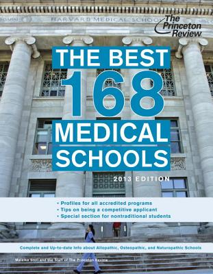 The Best 168 Medical Schools, 2013 Edition Cover