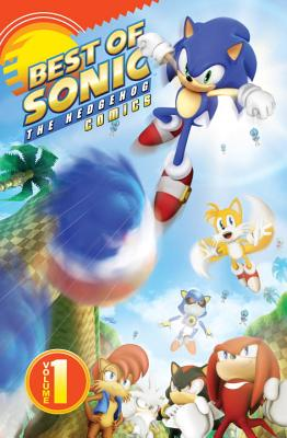 Best of Sonic the Hedgehog Comics Cover