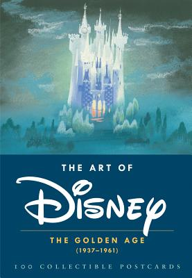 The Art of Disney: The Golden Age (1937-1961) 100 Collectible Postcards Cover Image