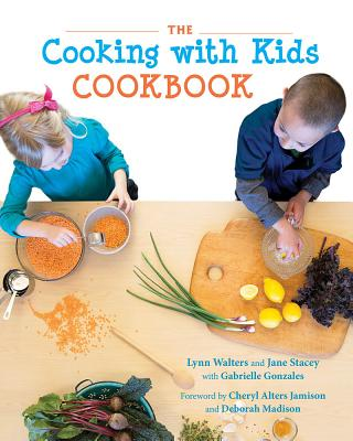 The Cooking with Kids Cookbook Cover Image