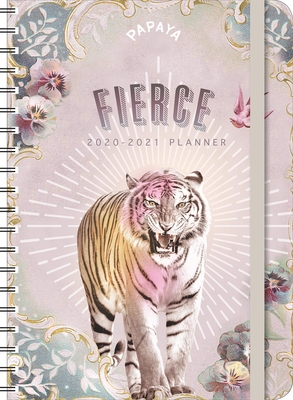 Papaya 2020-2021 Weekly Planner: 2020-21 On-The-Go Weekly Planner Cover Image