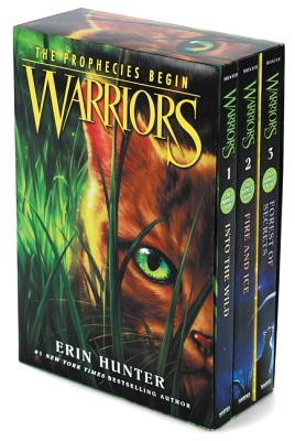 Warriors Box Set: Volumes 1 to 3: Into the Wild, Fire and Ice, Forest of Secrets (Warriors: The Prophecies Begin) Cover Image
