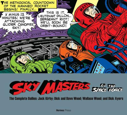 Sky Masters of the Space Force: The Complete Dailies 1958-1961 Cover Image