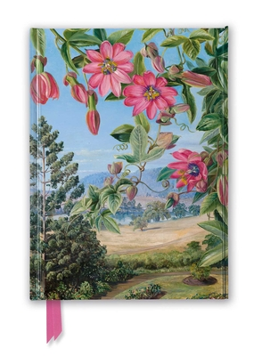 Kew Gardens' Marianne North: View in the Brisbane Botanic Garden (Foiled Journal) (Flame Tree Notebooks) Cover Image