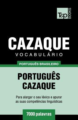 Vocabulário Português Brasileiro-Cazaque - 7000 palavras Cover Image