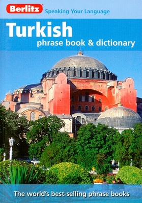 Berlitz Turkish Phrase Book and Dictionary Cover