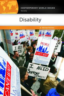 Disability: A Reference Handbook (Contemporary World Issues) Cover Image
