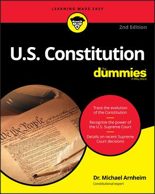 U.S. Constitution for Dummies Cover Image