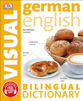 German English Bilingual Visual Dictionary (DK Bilingual Visual Dictionaries) Cover Image