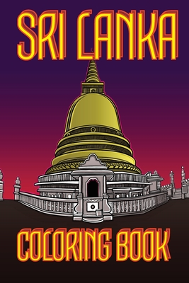 Sri Lanka Coloring Book: Temple Us Edition Cover Image