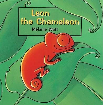 Cover for Leon the Chameleon