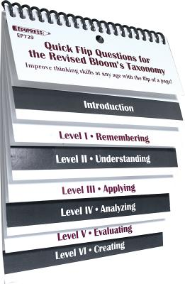 Quick Flip Questions for the Revised Bloom Taxonomy Cover Image