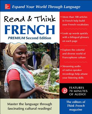 Read & Think French, Premium Second Edition Cover Image