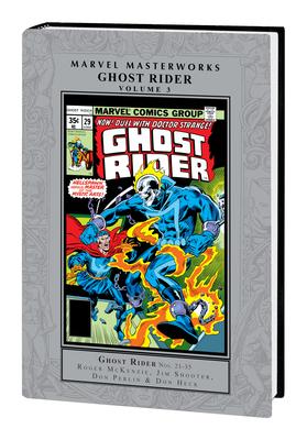 Marvel Masterworks: Ghost Rider Vol. 3 Cover Image