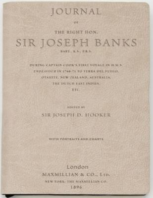 Journal of Sir Joseph Banks: Tan Lined Journal (Science & Exploration (Discovery)) Cover Image